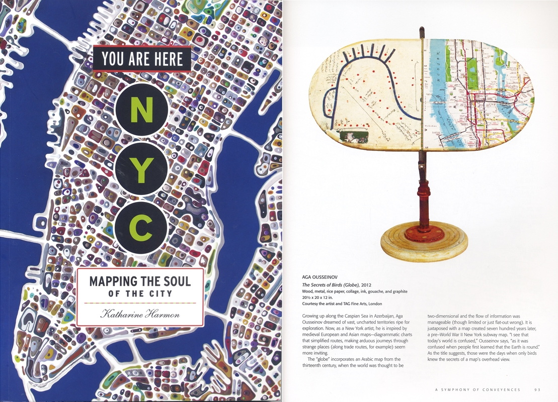 NYC: Mapping the Soul of the City by Katharine Harmon